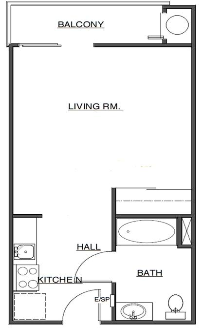Image of Santa Paulan Senior Apartments