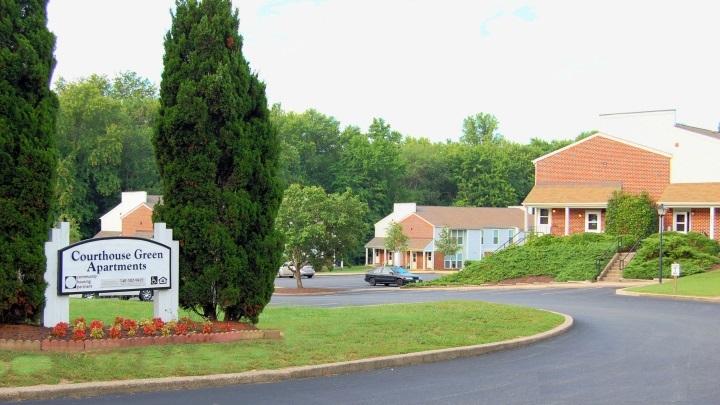 Image of Courthouse Green in Spotsylvania, Virginia