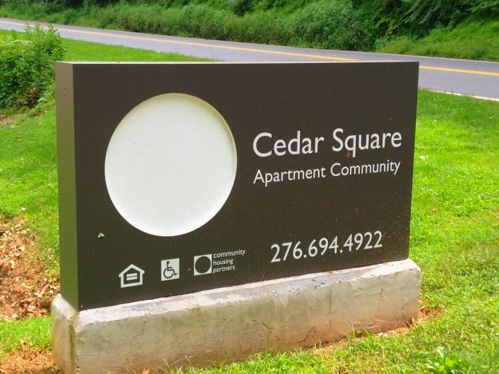 Image of Cedar Square in Stuart, Virginia