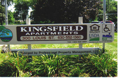 Image of Kingsfield Apartments in Plano, Illinois