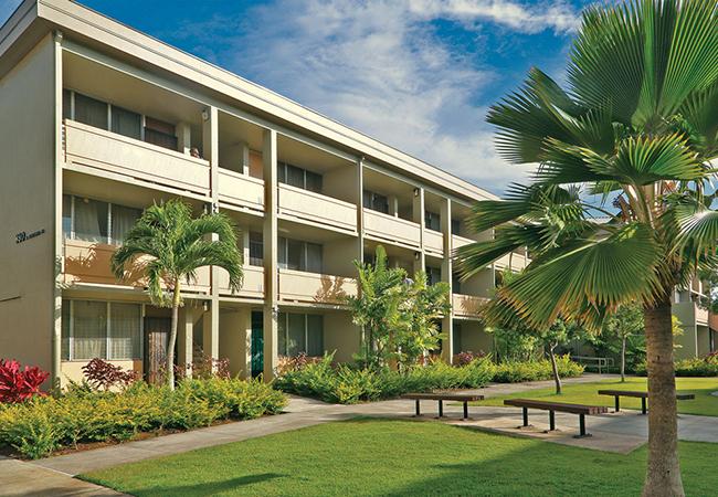 Image of Kukui Gardens in Honolulu, Hawaii