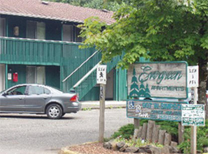 Image of Evergreen Apartments in Mccleary, Washington