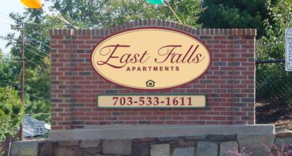 Image of East Falls Apartments in Falls Church, Virginia