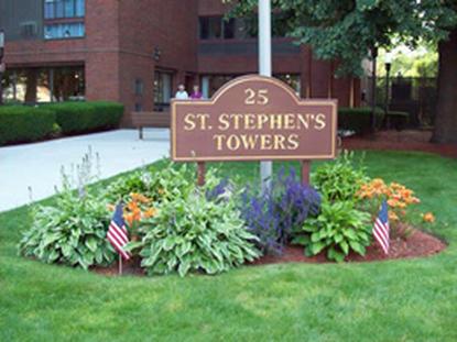 Image of St. Stephens Tower in Lynn, Massachusetts