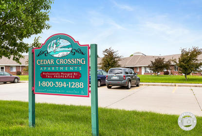Image of Cedar Crossing Senior Apartments in Boone, Iowa