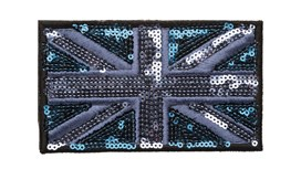 Blue/Navy Sequin Union Jack (Large)