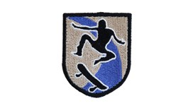 Skateboarder Patch