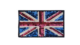 Traditional Sequin Union Jack (Large)