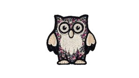 Liberty Print Owl Patch