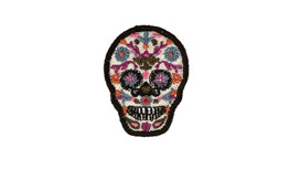 Flower Skull Patch