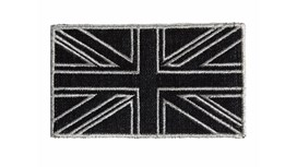 Black and Silver Denim Union Jack