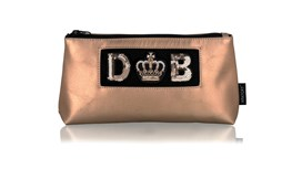 Diva Medium Pouch in Blush Gold