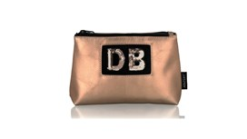 Diva Small Pouch in Blush Gold