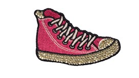 Pink Converse Patch