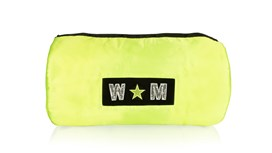 Neon Yellow Satin Liner Personalised