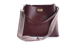 Mulberry Leather Tote Bag and Strap