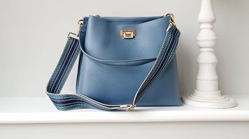 Leather Bag and Strap