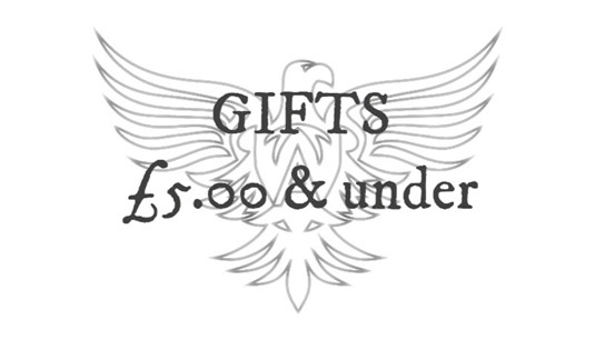 Gifts £5 and under