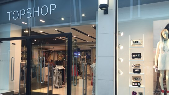 Topshop Pop Up