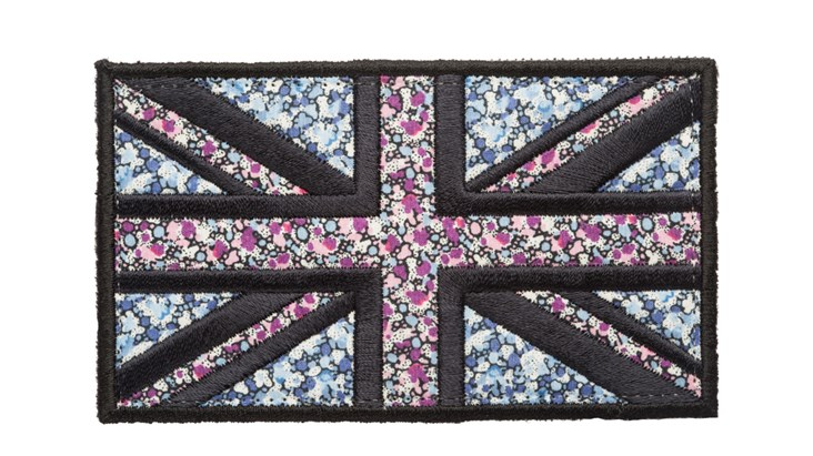 Large Liberty Print Union Jack x 10