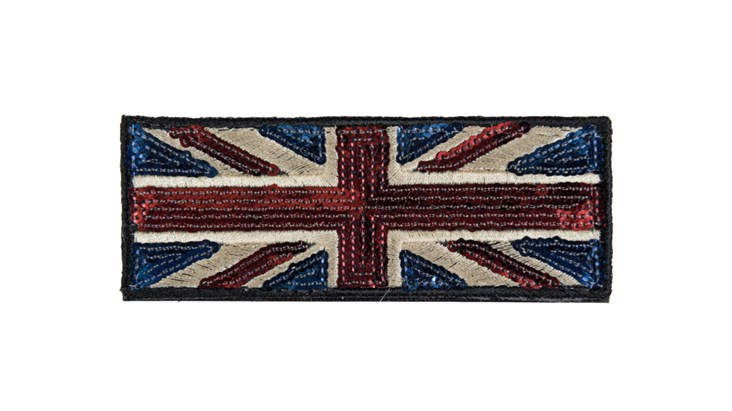 Medium Traditional Sequin Union Jack