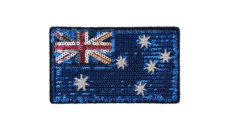 Large Australia Sequin