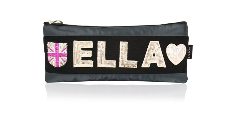 Personalised Girl's Tarpaulin Pencil Case