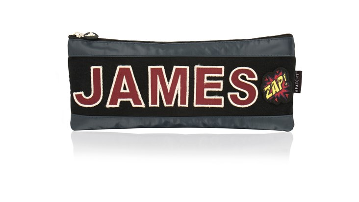 Personalised Long Tarpaulin Pencil Case
