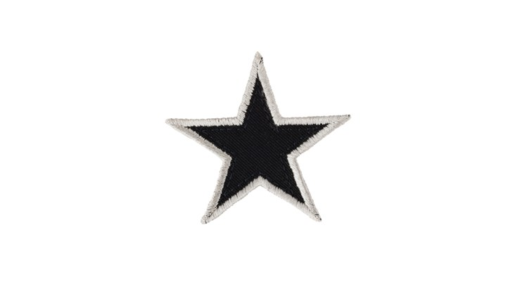 Navy Blue Star x 10