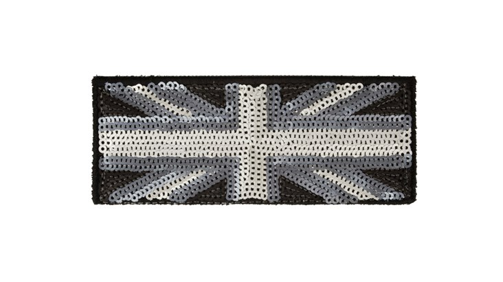 Medium Matte Sequin Union Jack