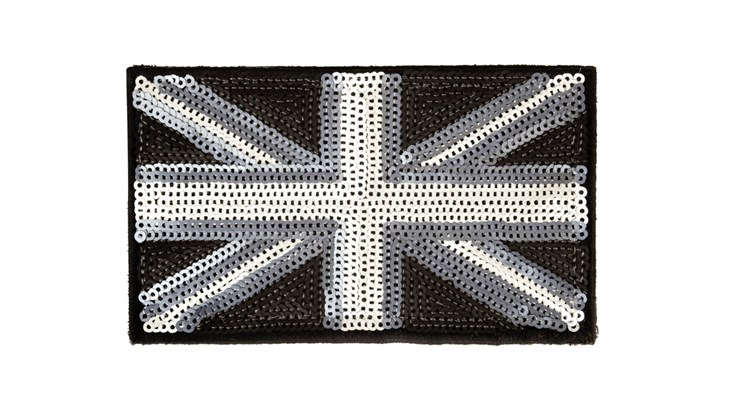 Matte Sequin Union Jack (Large)