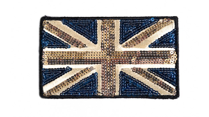 Large Classic Sequin Union Jack