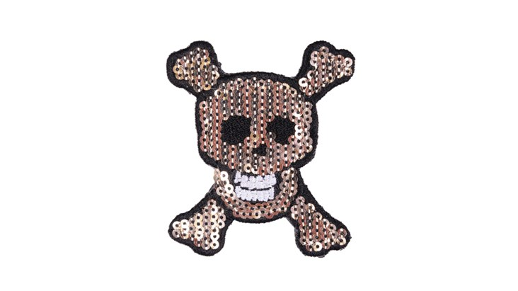 Small Sequin Skull x 10