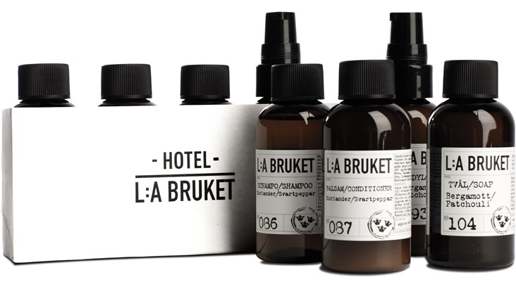 L:A Bruket Travel Set