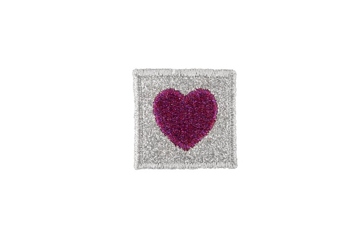 Pink Heart Adhesive Patch
