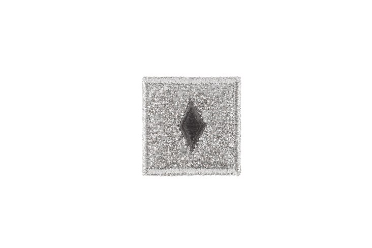 Grey Diamond Adhesive Patch