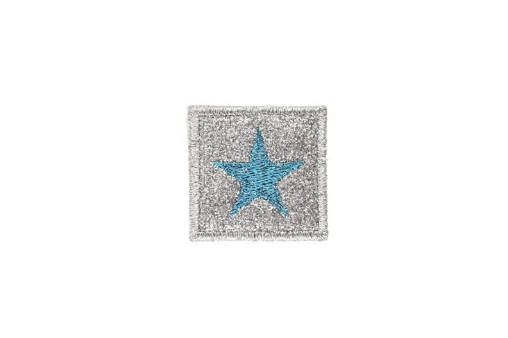 Turquoise Star Adhesive Patch
