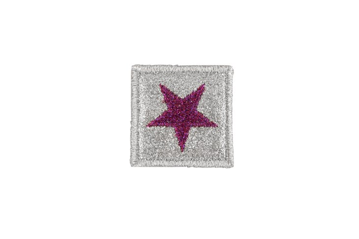 Pink Star Adhesive Patch
