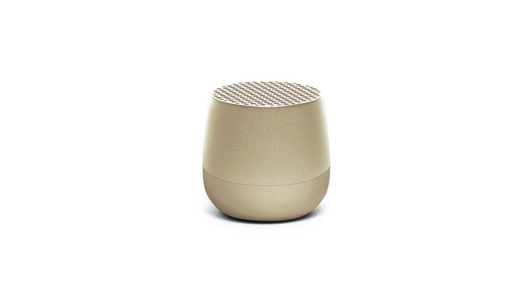 Lexon Mini Bluetooth Speaker Gold