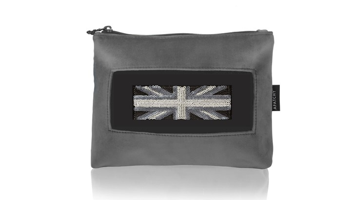 Grey Velvet Beauty Bag x 10 (Inc Patches)