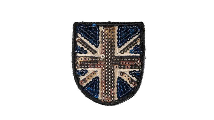 Small Classic Sequin Union Jack x 10