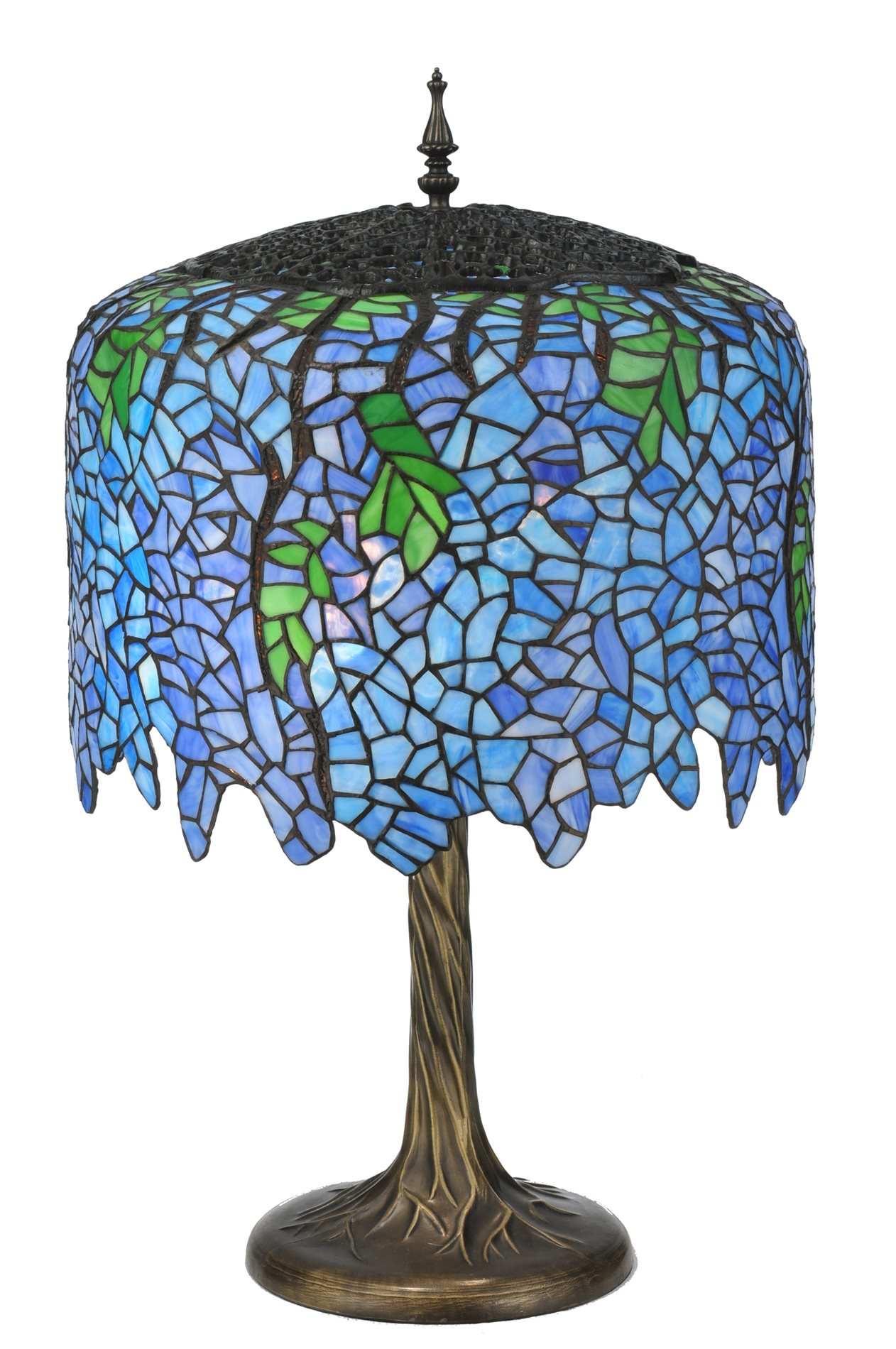 Meyda Tiffany 118689 Wisteria Table Lamp Md 118689