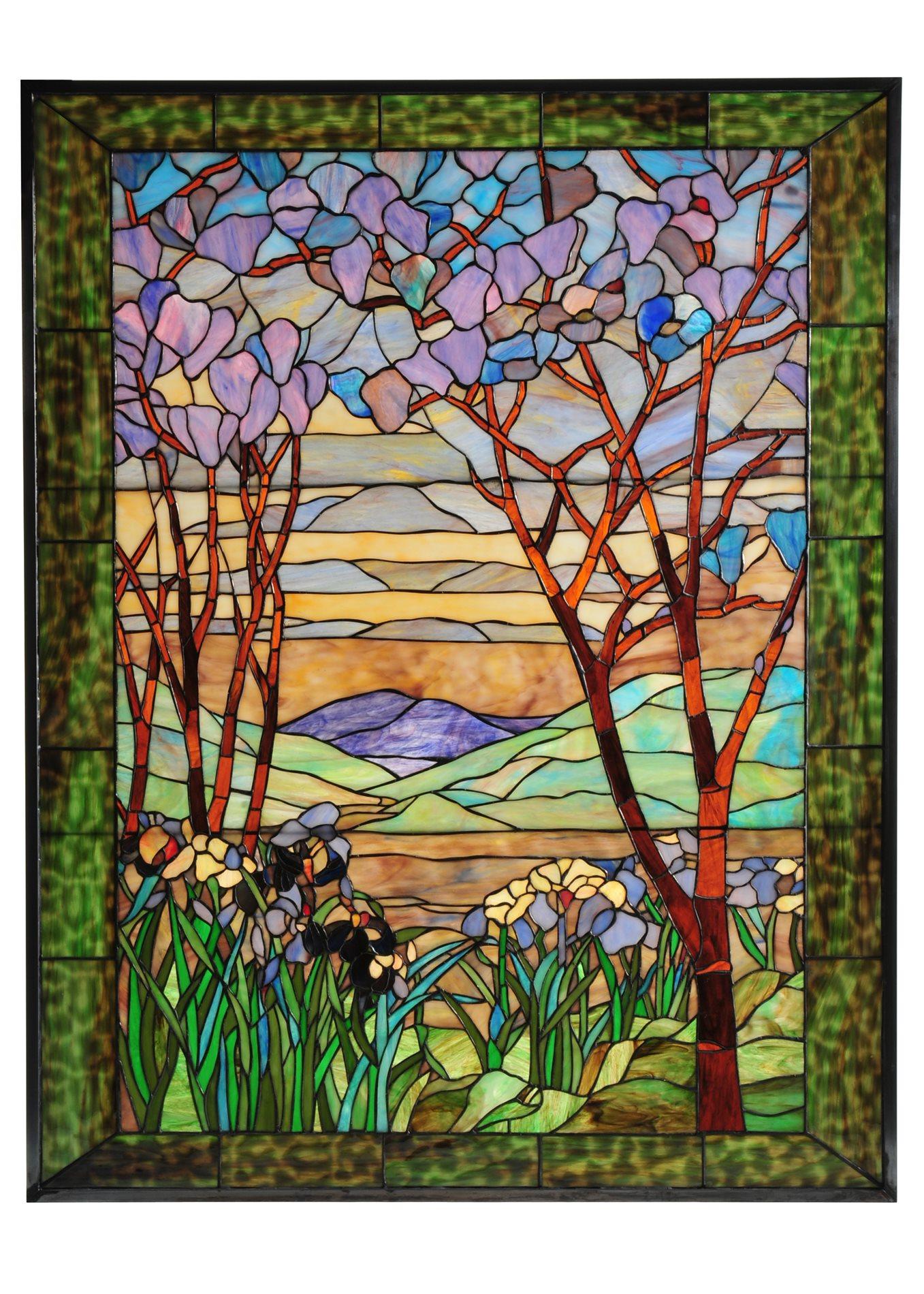 Meyda Tiffany 121202 Victorian Tiffany Magnolia Amp Iris