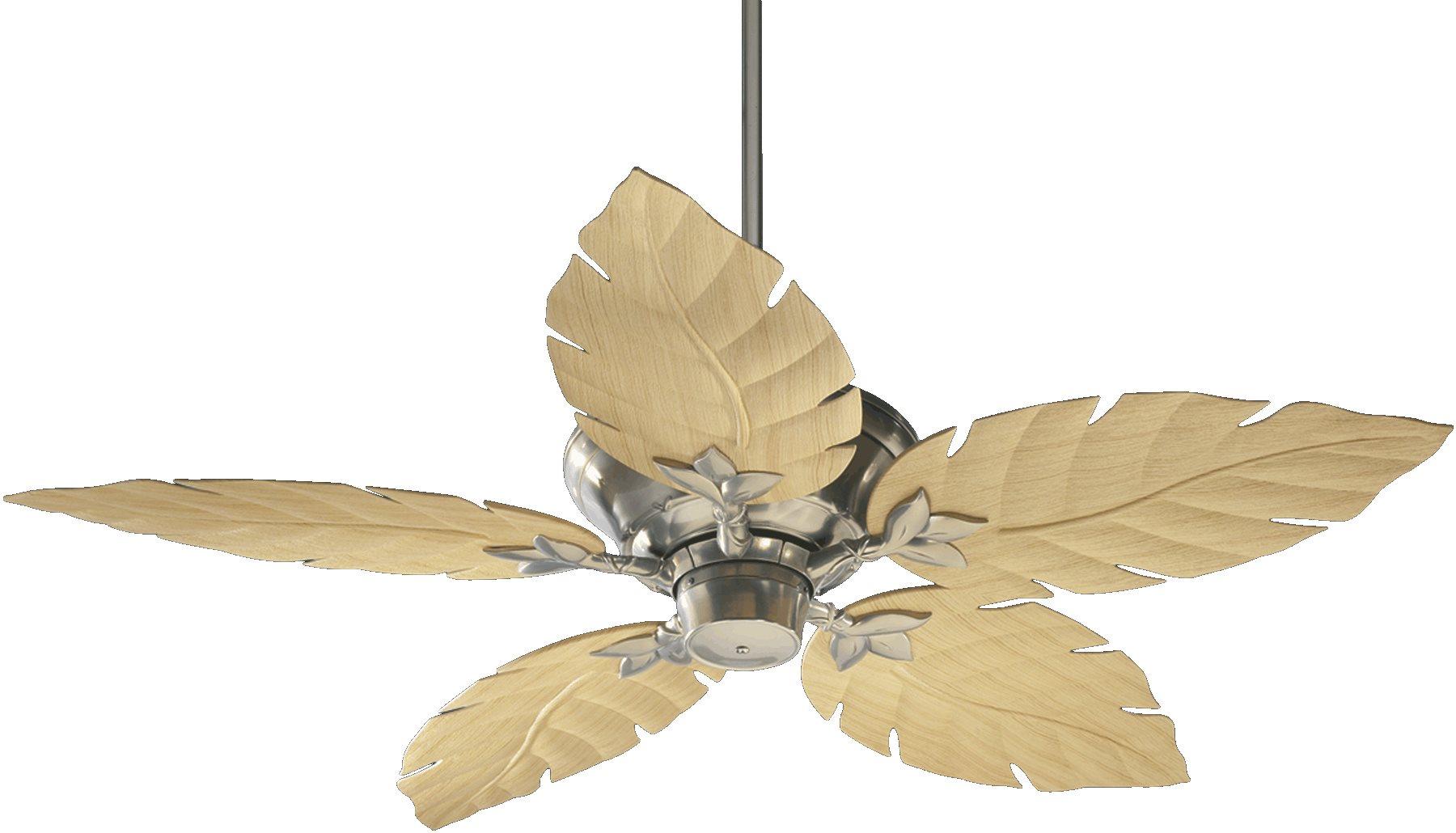 Quorum Lighting 135525 Monaco 52 Patio Tropical Ceiling Fan Qr 135525