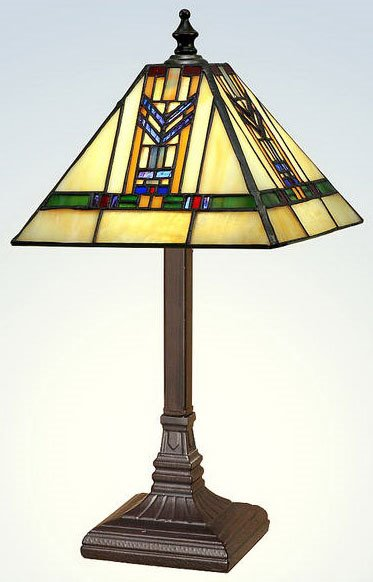 Paul Sahlin Tiffany Accent Table Lamp Pst 1574 See Details