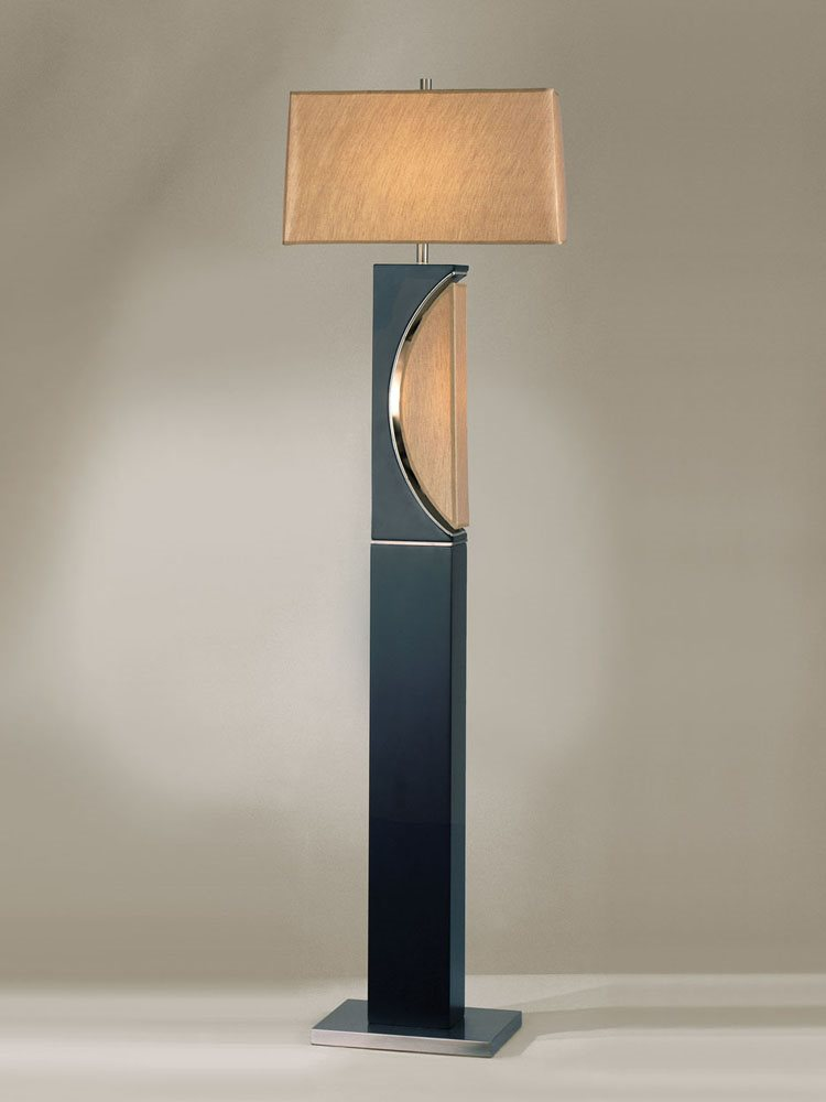 Nova Lighting 1736 Half Moon Transitional Floor Lamp Nv 1736