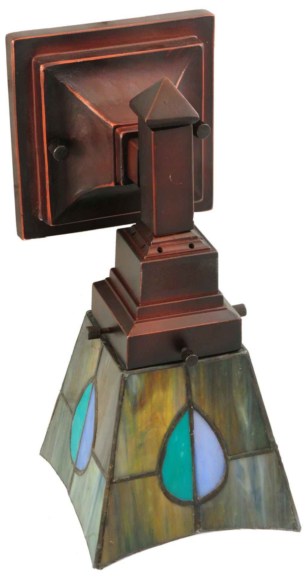 Meyda Tiffany 31229 Mackintosh Leaf Tiffany Transitional
