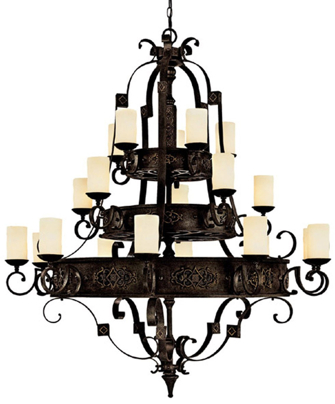 Capital lighting 3600ri 125 river crest traditional 20 light chandelier cp 3600 ri 125
