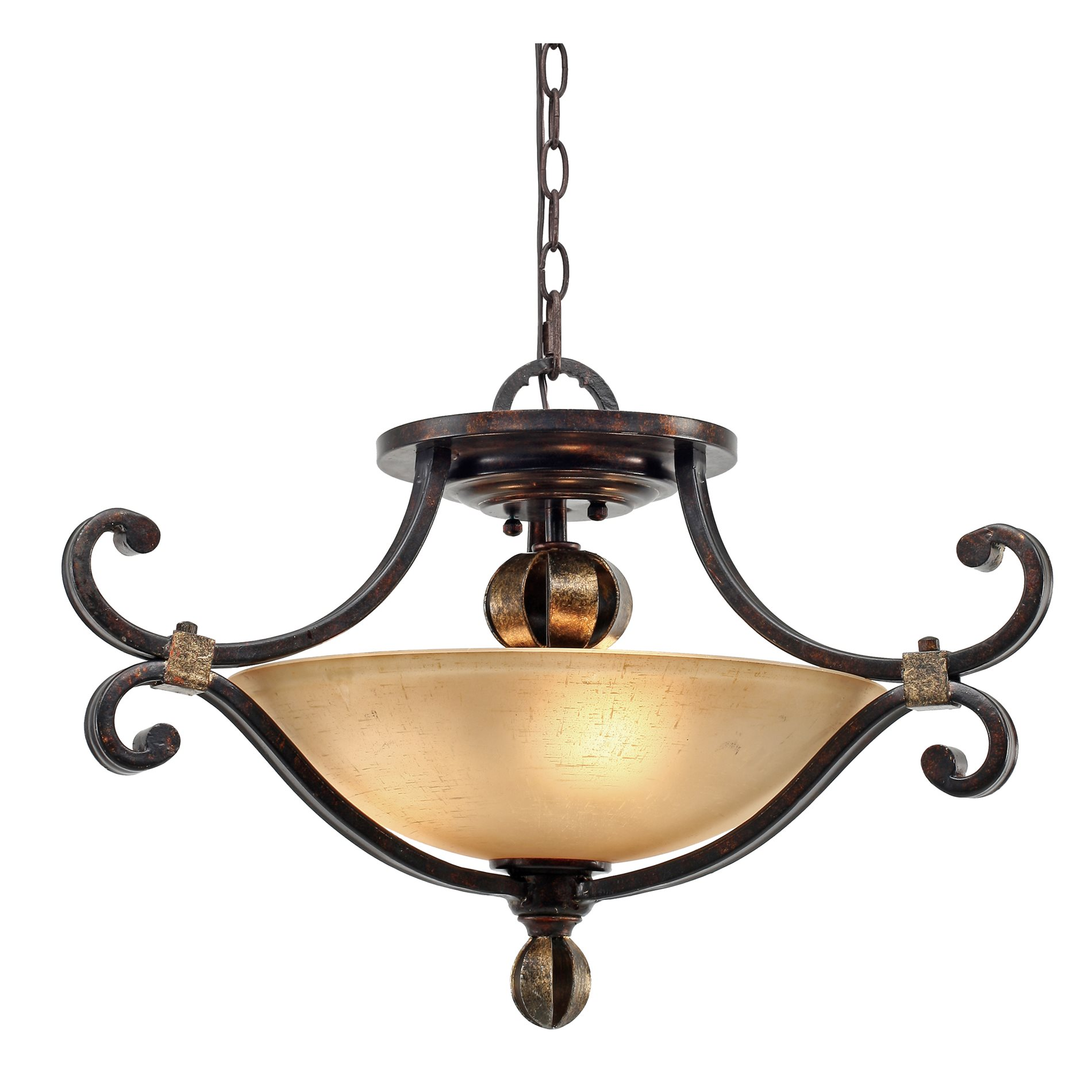 Golden lighting 3966 sf fb portland traditional semi flush mount ceiling light gdl 3966 sf fb
