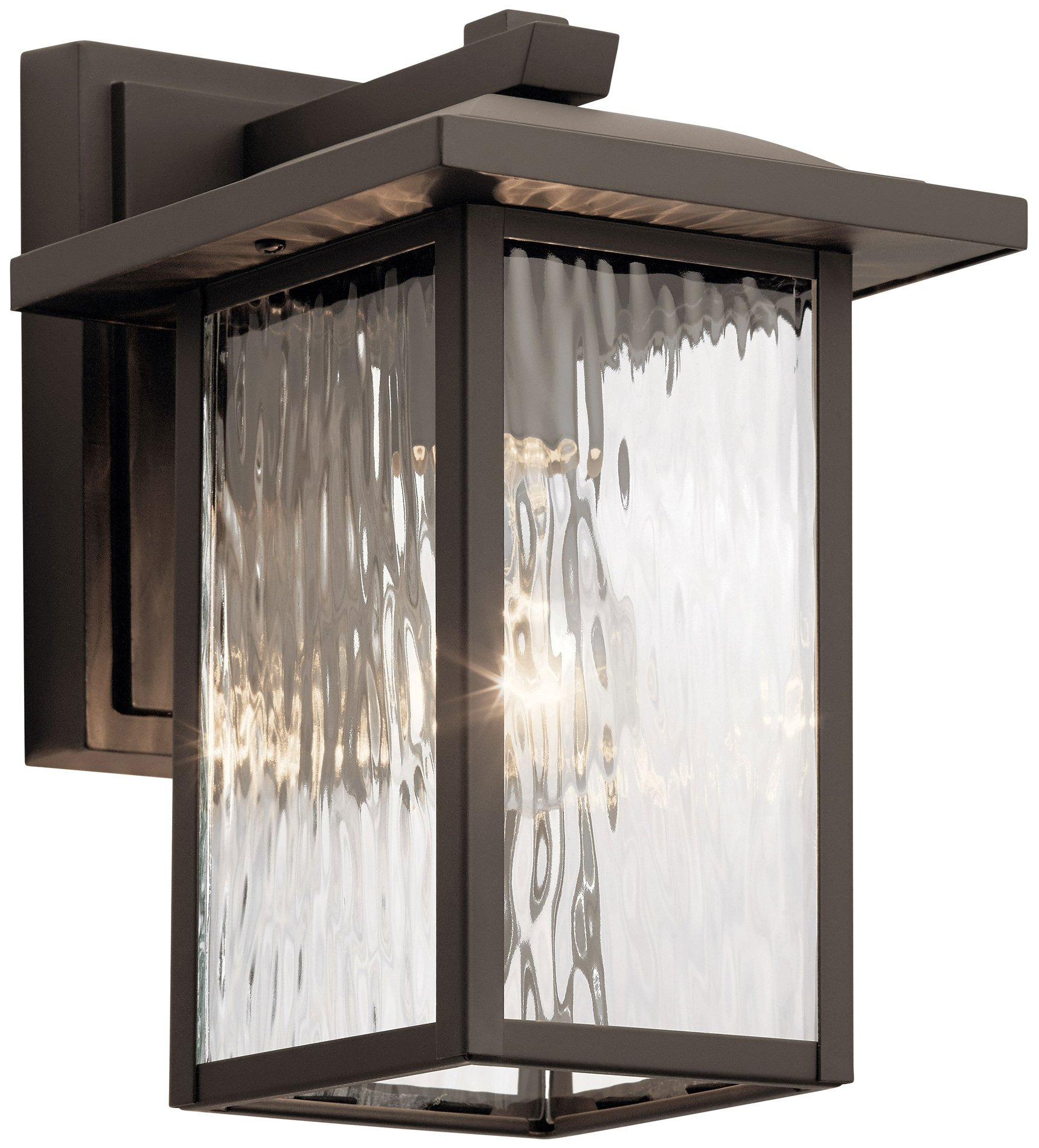 Kichler Lighting 49924oz Capanna Modern Contemporary Outdoor Wall Sconce Kch 49924oz